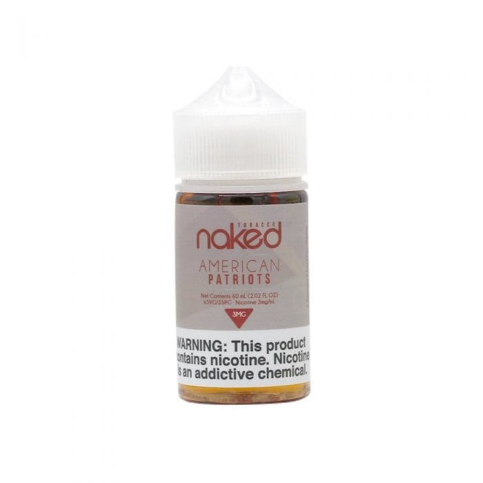 Naked 100 American Patriots 60ml Vape Juice
