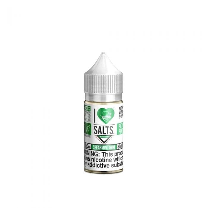 Mad Hatter's I Love Salts Spearmint Gum Nic Salts Juice