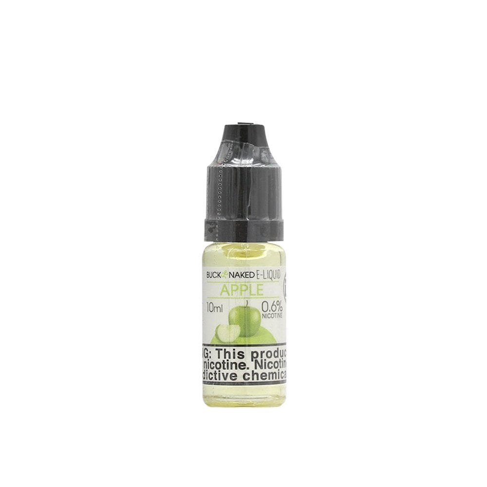 Apple flavor e liquid by buck naked the electric for Naked fish e juice