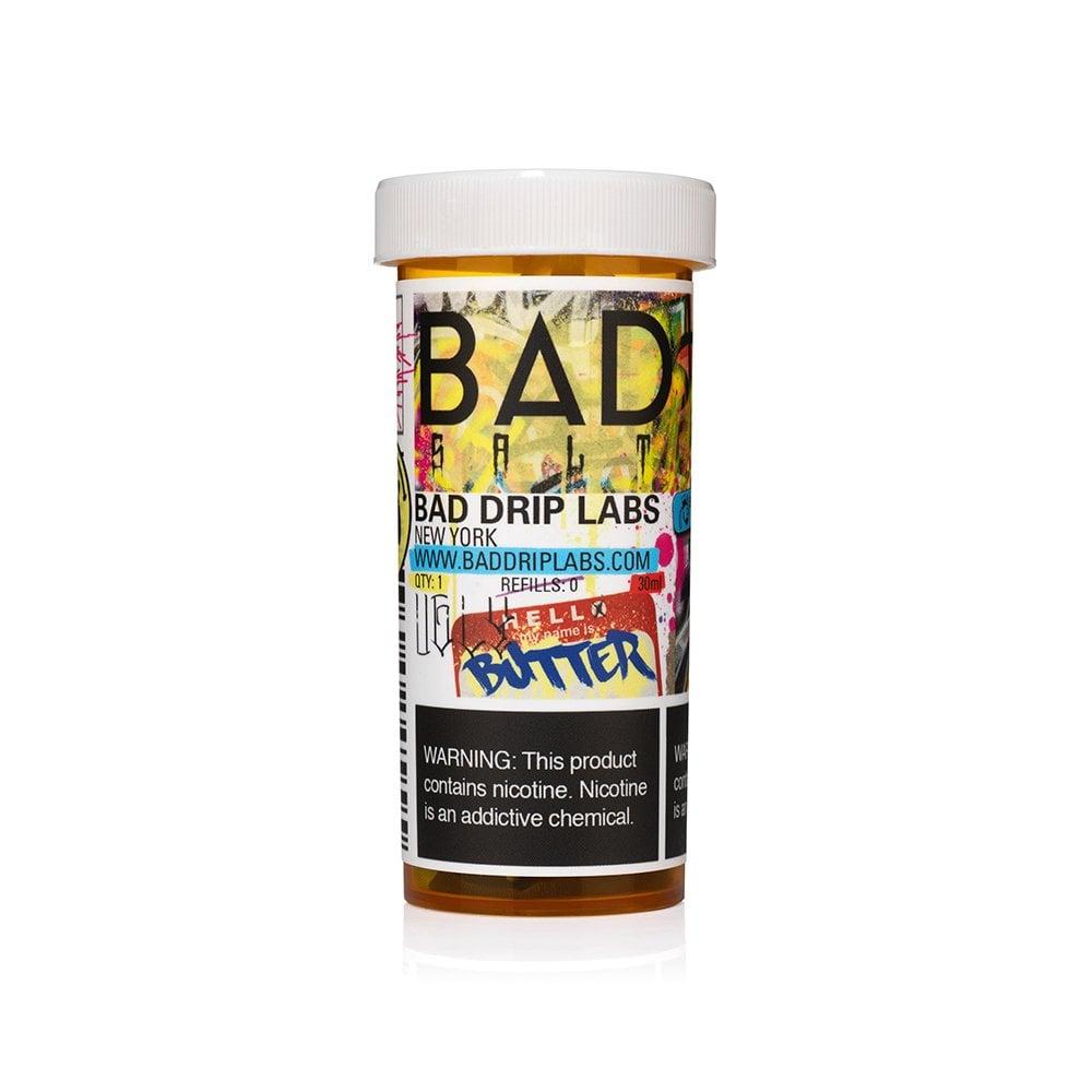 Bad Salt Ugly Butter Nic Juice By Drip Electric Mr E Liquid 45mg Nicotine 30ml