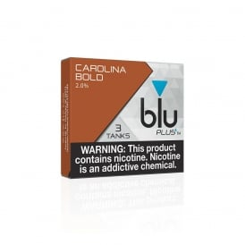 Carolina Bold PLUS+ Flavor Tanks™