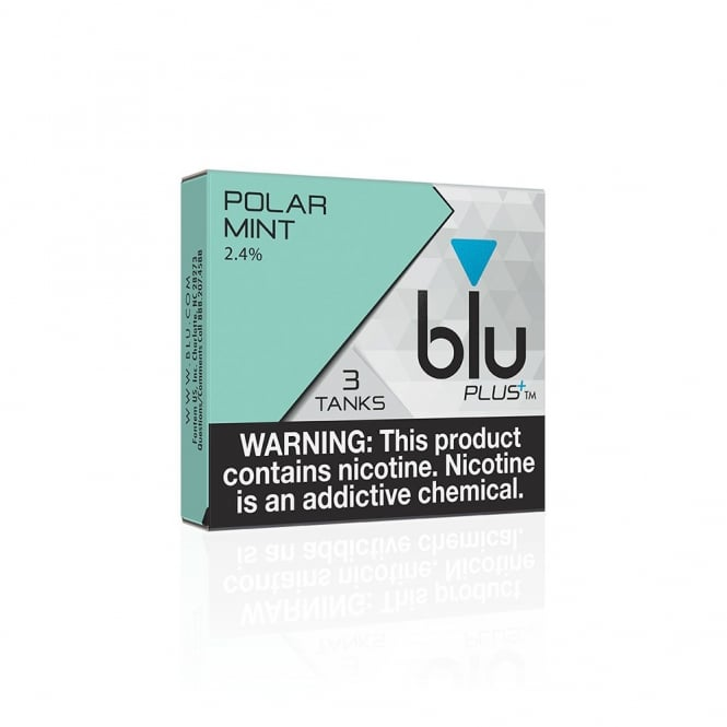 BLU E Cig Glacier Mint PLUS+ Flavor Tanks™