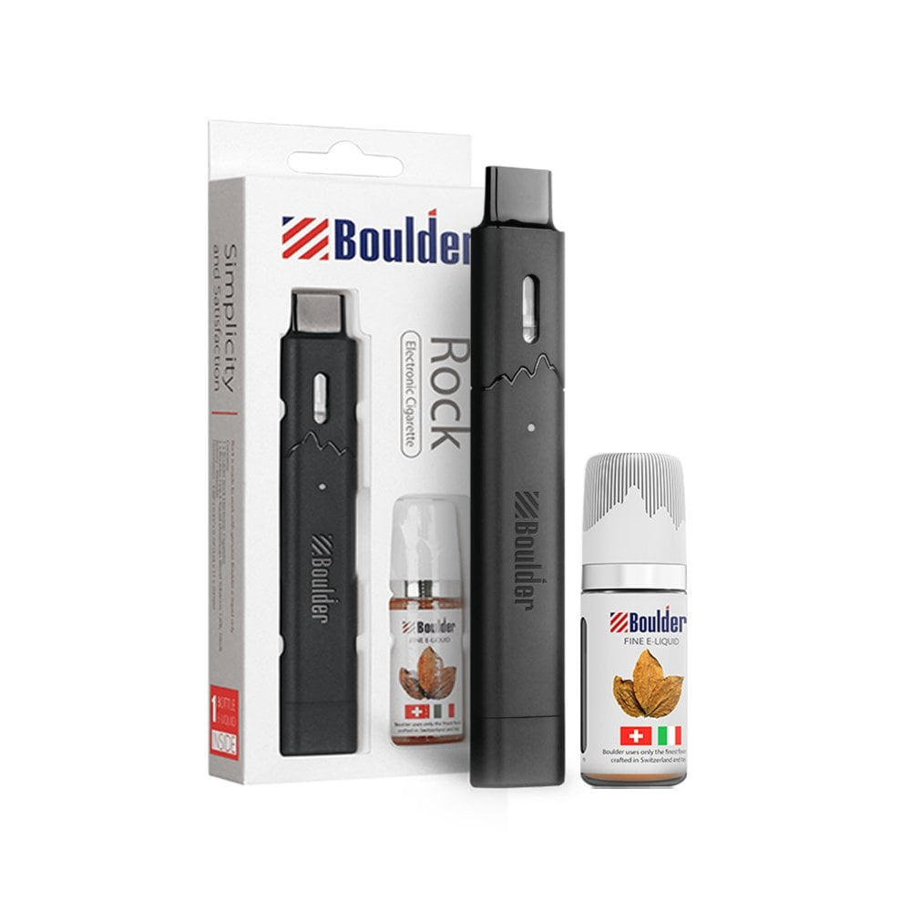 Boulder Rock E-Cigarette Starter Kit | Electric Tobacconist