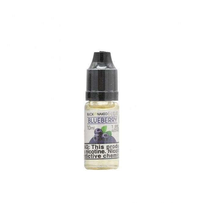 Buck Naked Vape Blueberry 10ml E-Liquid