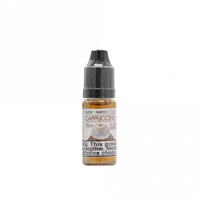 Buck Naked Vape Cappuccino 10ml E-Liquid