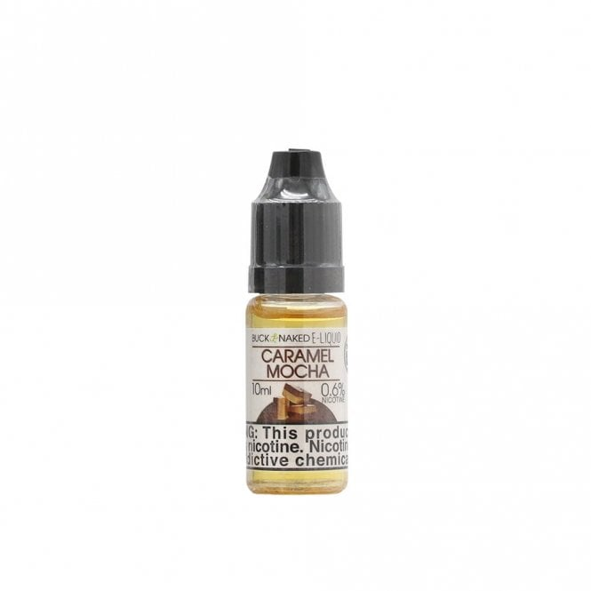 Caramel mocha flavor e liquid by buck naked the electric for Naked fish e juice