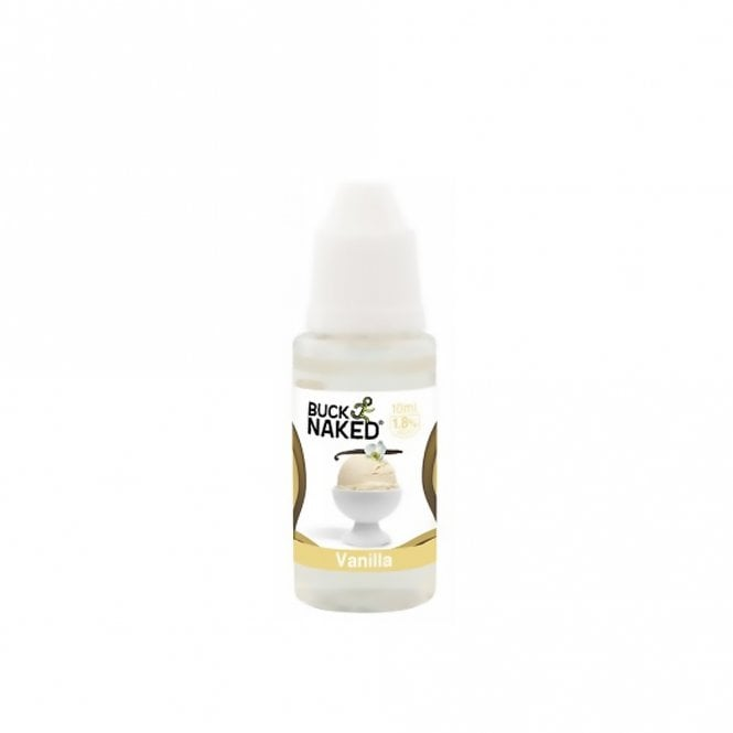 Buck Naked Vape Vanilla 10ml E-Liquid