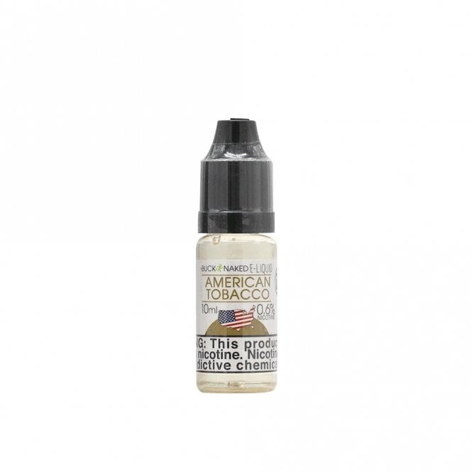 Buck Naked Vape American Tobacco 10ml E-Liquid