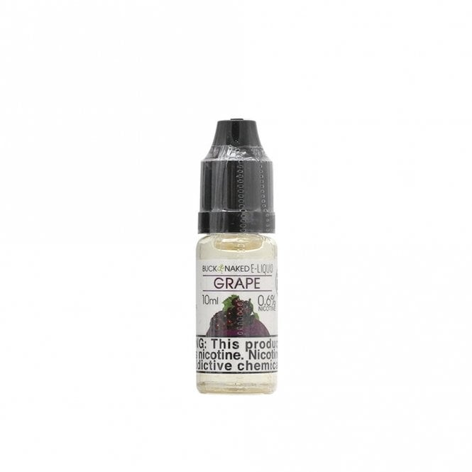 Buck Naked Vape Grape 10ml E-Liquid