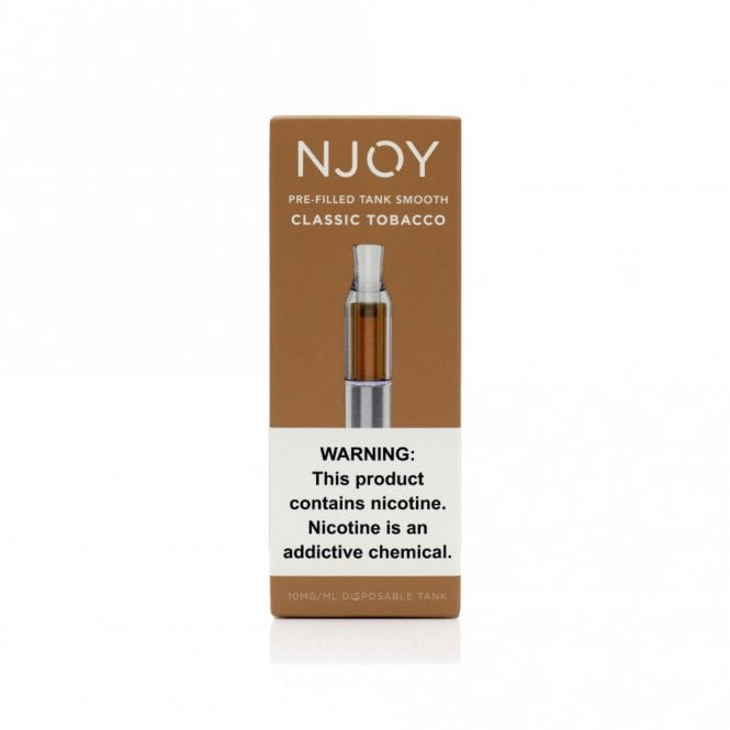 NJOY Convenience Vaping Pre-Filled Tank (Classic Tobacco)
