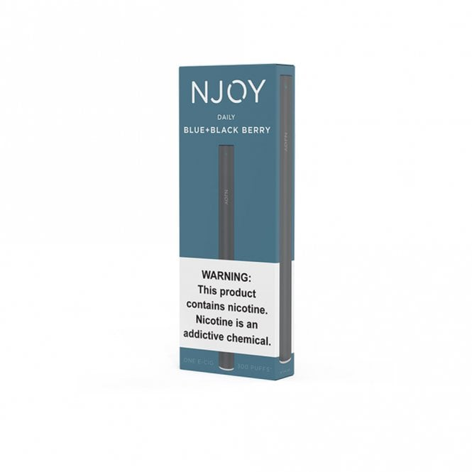 NJOY Daily Disposable E-Cig - Blueberry Flavor