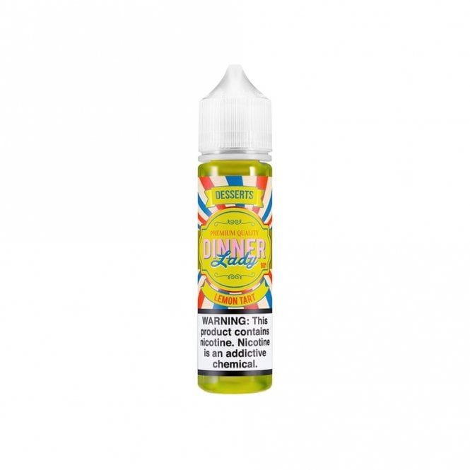 Dinner Lady Lemon Tart 60ml Vape Juice