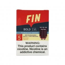 Bold Tobacco Cartomizer 5-Pack | 24mg