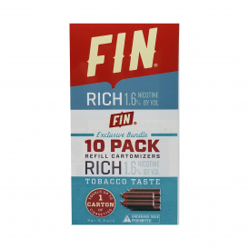 Rich Tobacco Cartomizer 10-Pack | 16mg