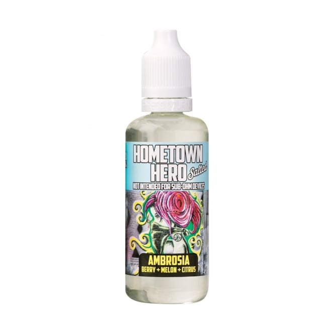 Hometown Hero Ambrosia Salted 50ml Vape Juice
