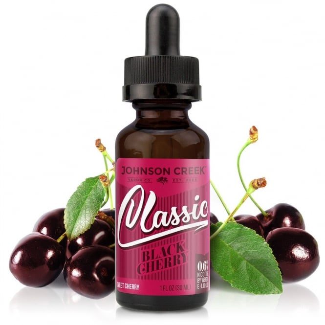 Johnson Creek Smoke Juice Black Cherry 30ml E-Liquid