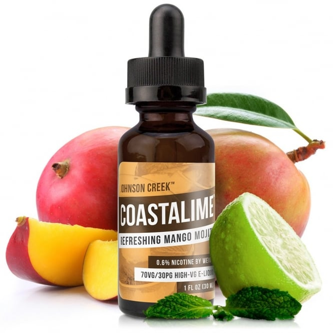 Johnson Creek Smoke Juice Coastalime 30ml High-VG E-Liquid