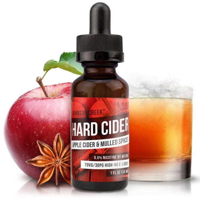 Johnson Creek Smoke Juice Hard Cider 30ml High-VG E-Liquid