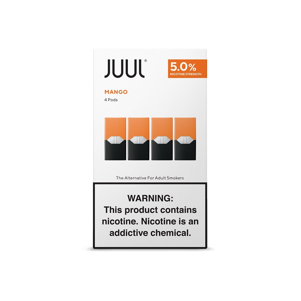 JUUL Mango Pods | Electric Tobacconist USA