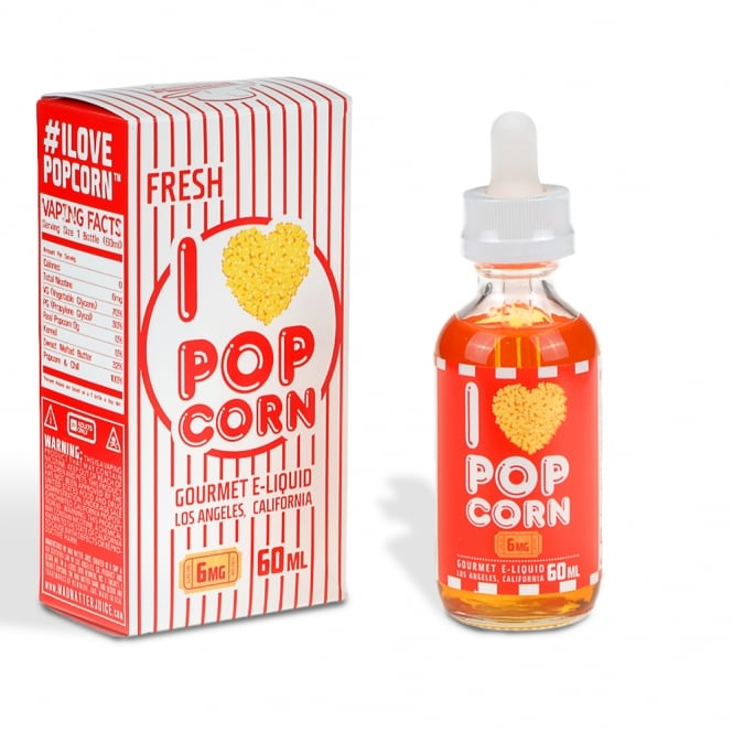 Mad Hatter E-Juice I Love Popcorn™ 60ml E-Liquid