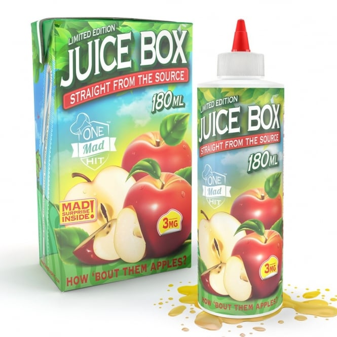 Mad Hatter E-Juice Juice Box by One Mad Hit™ 180ml E-Liquid