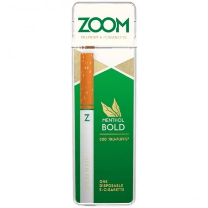 Zoom E Cig Menthol Bold Disposable E-Cigarette