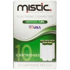 Menthol Flavor Cartridge Refill Pack (10-pack)