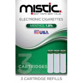 Menthol Flavor Cartridge Refill Pack (3-pack)