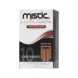 Tobacco Flavor Cartridge Refill Pack (10-pack) | 24mg