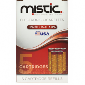 Tobacco Flavor Cartridge Refill Pack (5-pack) | 18mg