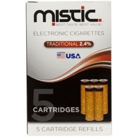 Tobacco Flavor Cartridge Refill Pack (5-pack) | 24mg