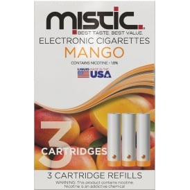 Mango Flavor Cartridge Refill Pack (3-pack)