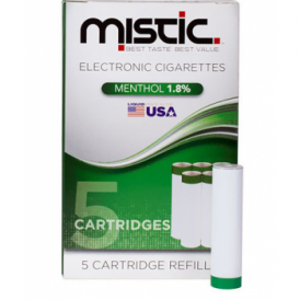 Menthol Flavor Cartridge Refill Pack (5-pack) | 18mg