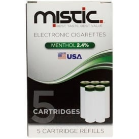 Menthol Flavor Cartridge Refill Pack (5-pack) | 24mg