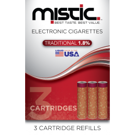 Tobacco Flavor Cartridge Refill Pack (3-pack)
