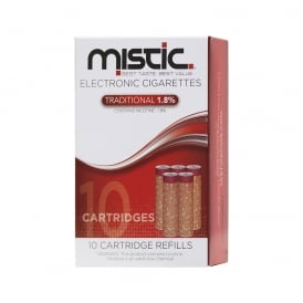 Traditional Flavor Cartridge Refill Pack (10-pack) | 18mg