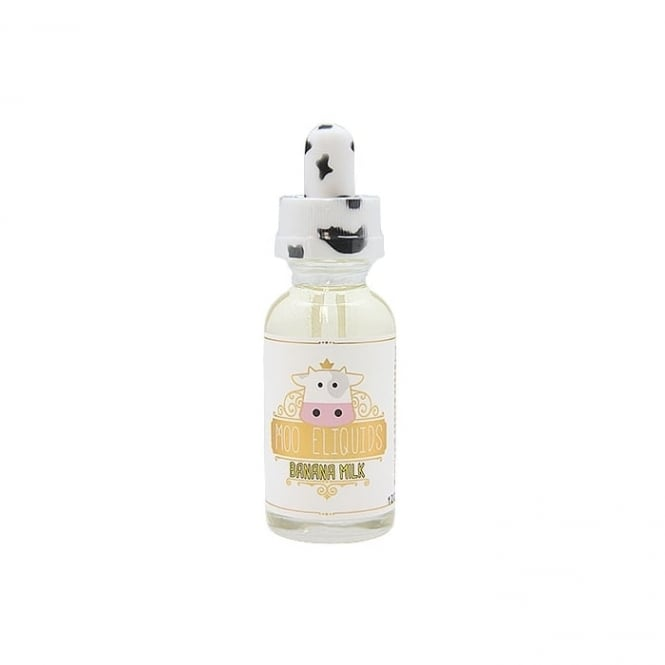 Moo E-Liquid Banana Milk 30ml