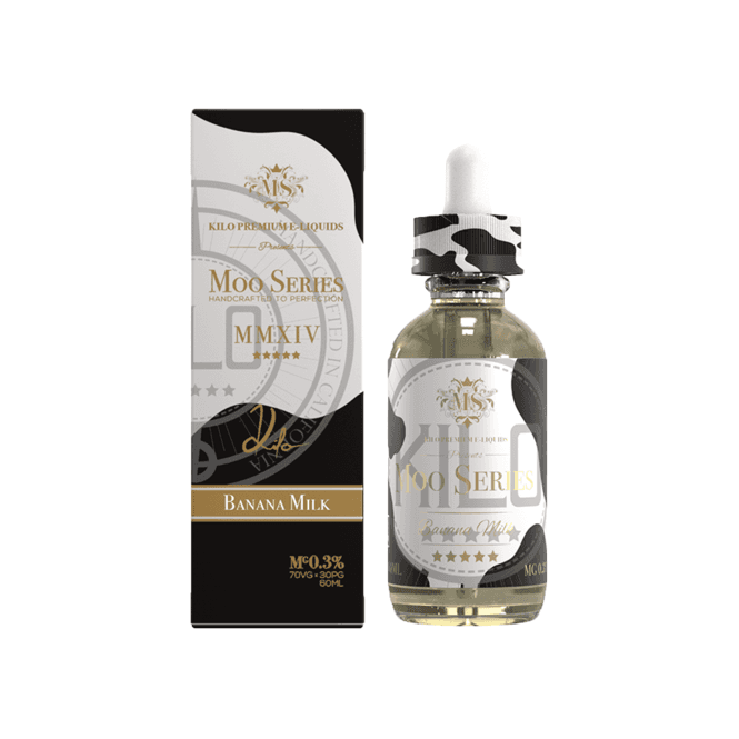 Moo E-Liquid Banana Milk 60ml