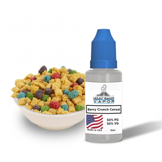 Mt Baker Vapor Berry Crunch Cereal 15ml E-Liquid