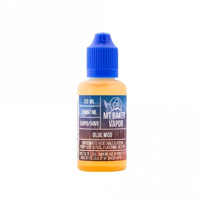Mt Baker Vapor Blue Moo 30ml Vape Juice