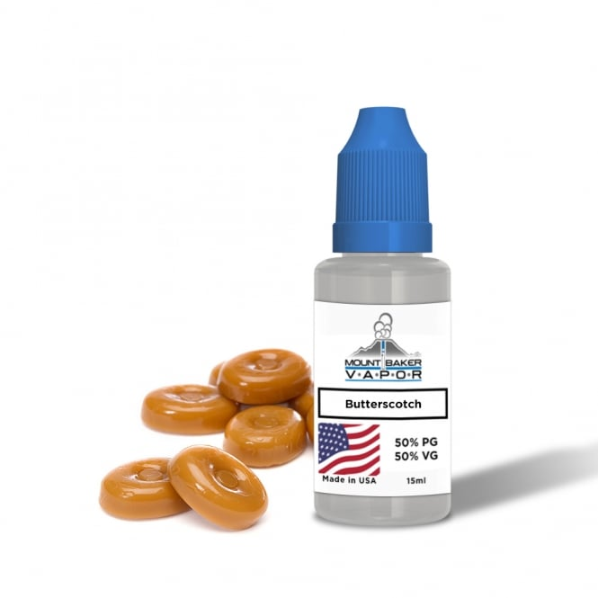 Mt Baker Vapor E-Liquid Butterscotch 15ml
