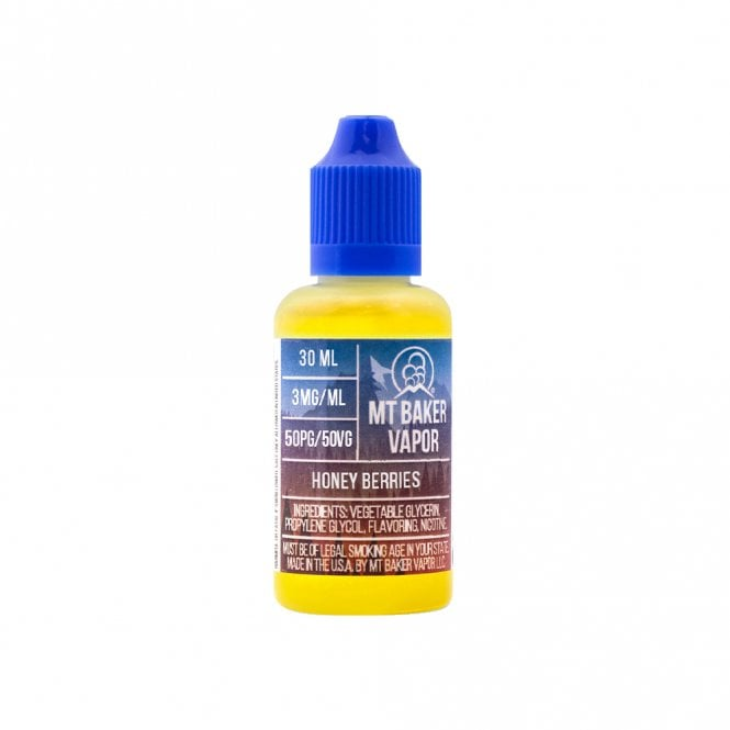 Mt Baker Vapor E-Liquid Honey Berries 15ml