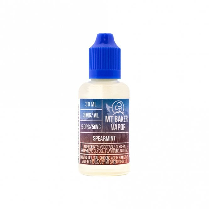 Mt Baker Vapor Spearmint 30ml E-Liquid
