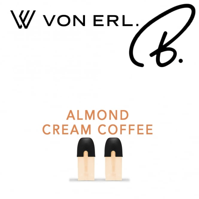 My Von Erl Liquidpods B. Eliquids - Almond Cream Coffee (2-Pack)