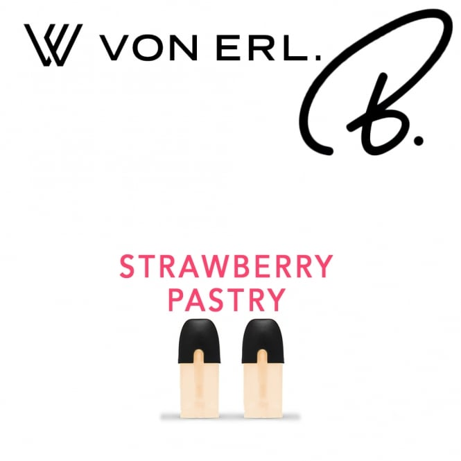 My Von Erl Liquidpods B. Eliquids - Strawberry Pastry (2-Pack)