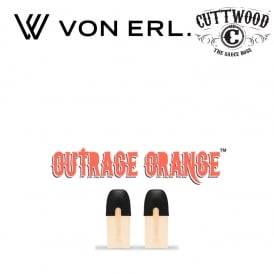 Liquidpods Cuttwood - Outrage Orange (2-Pack)