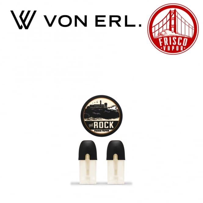 My Von Erl Liquidpods Frisco Vapor - The Rock (2-Pack)