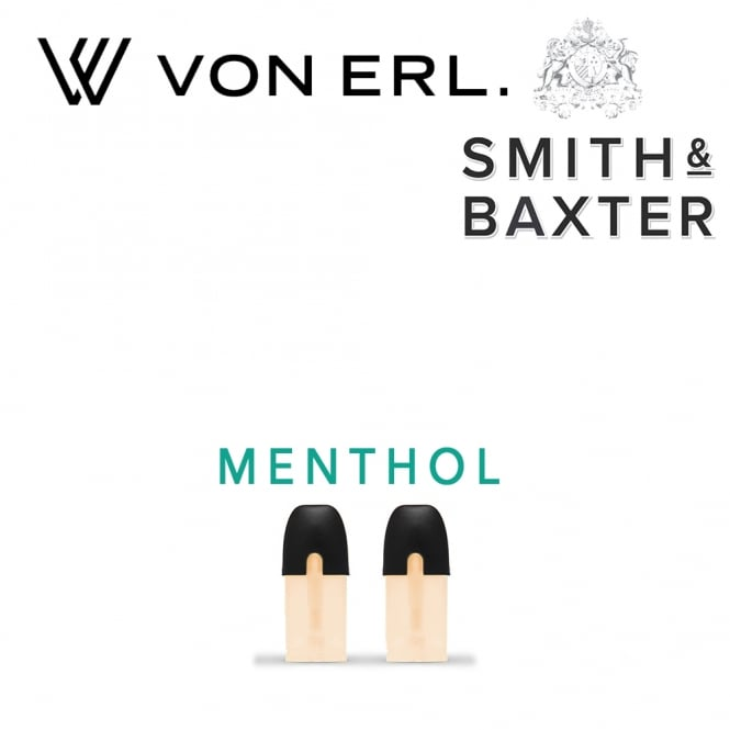 My Von Erl Liquidpods Smith & Baxter - Menthol (2-Pack)