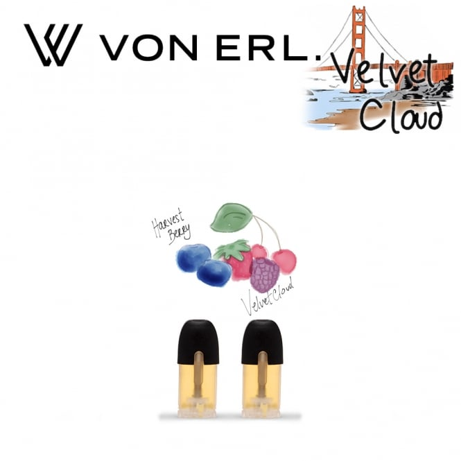 My Von Erl Liquidpods Velvet Cloud - Harvest Berry (2-Pack)