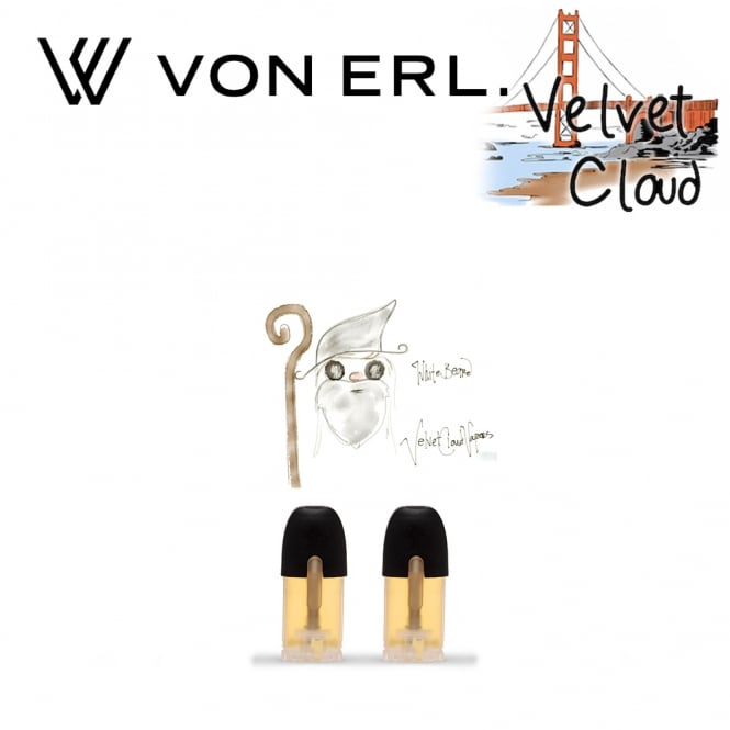 My Von Erl Liquidpods Velvet Cloud - White Beard (2-Pack)